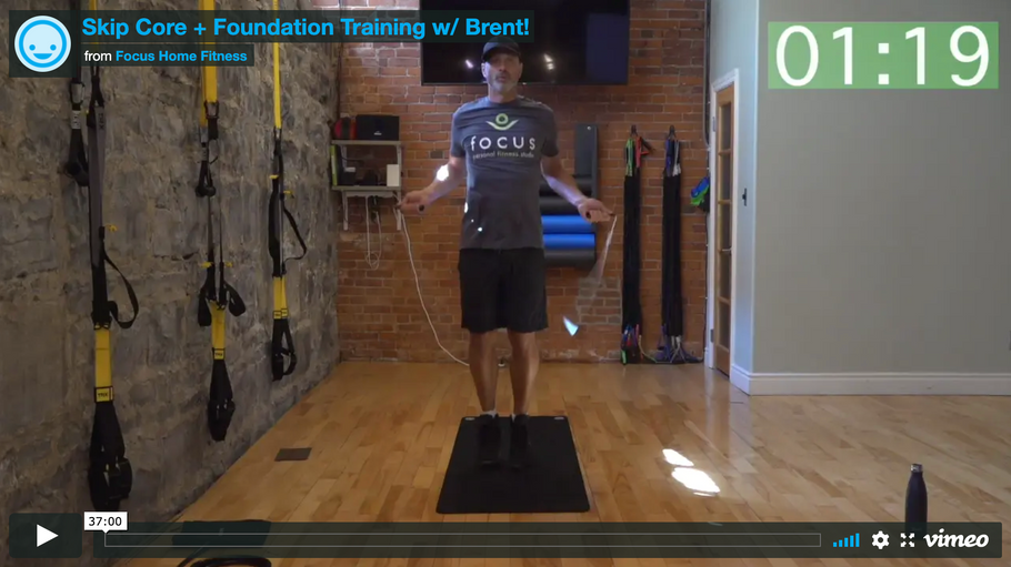 Skip Core + Foundation Training w/ Brent!