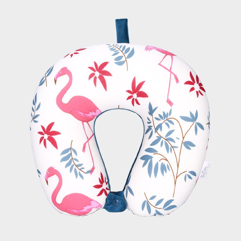 Coussin Avion Flamant Rose