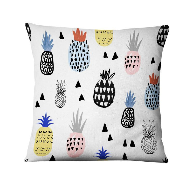 Coussin Pluie d'Ananas