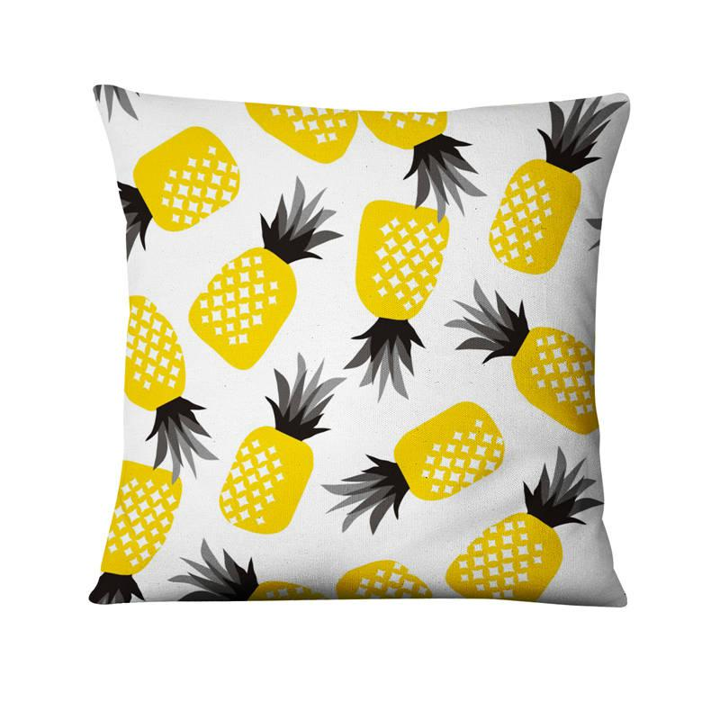 Coussin Peluche Ananas