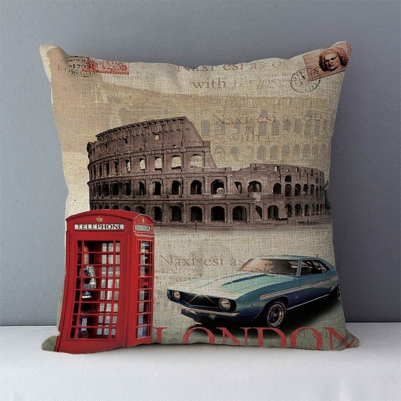 Coussin Londres Italie