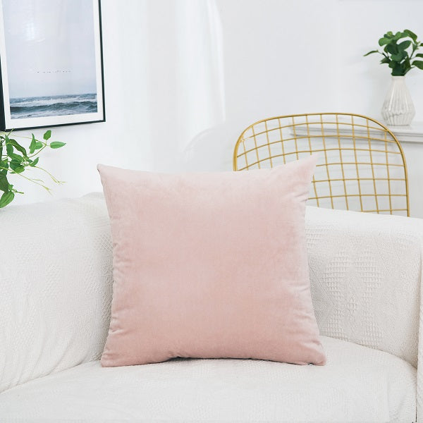 Coussin Rose Pastel