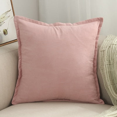 Coussin Rose Clair