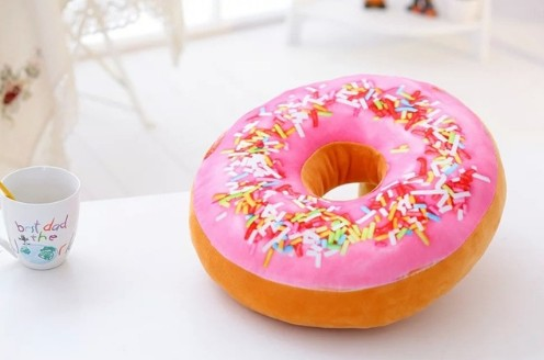 Coussin Donuts Géant