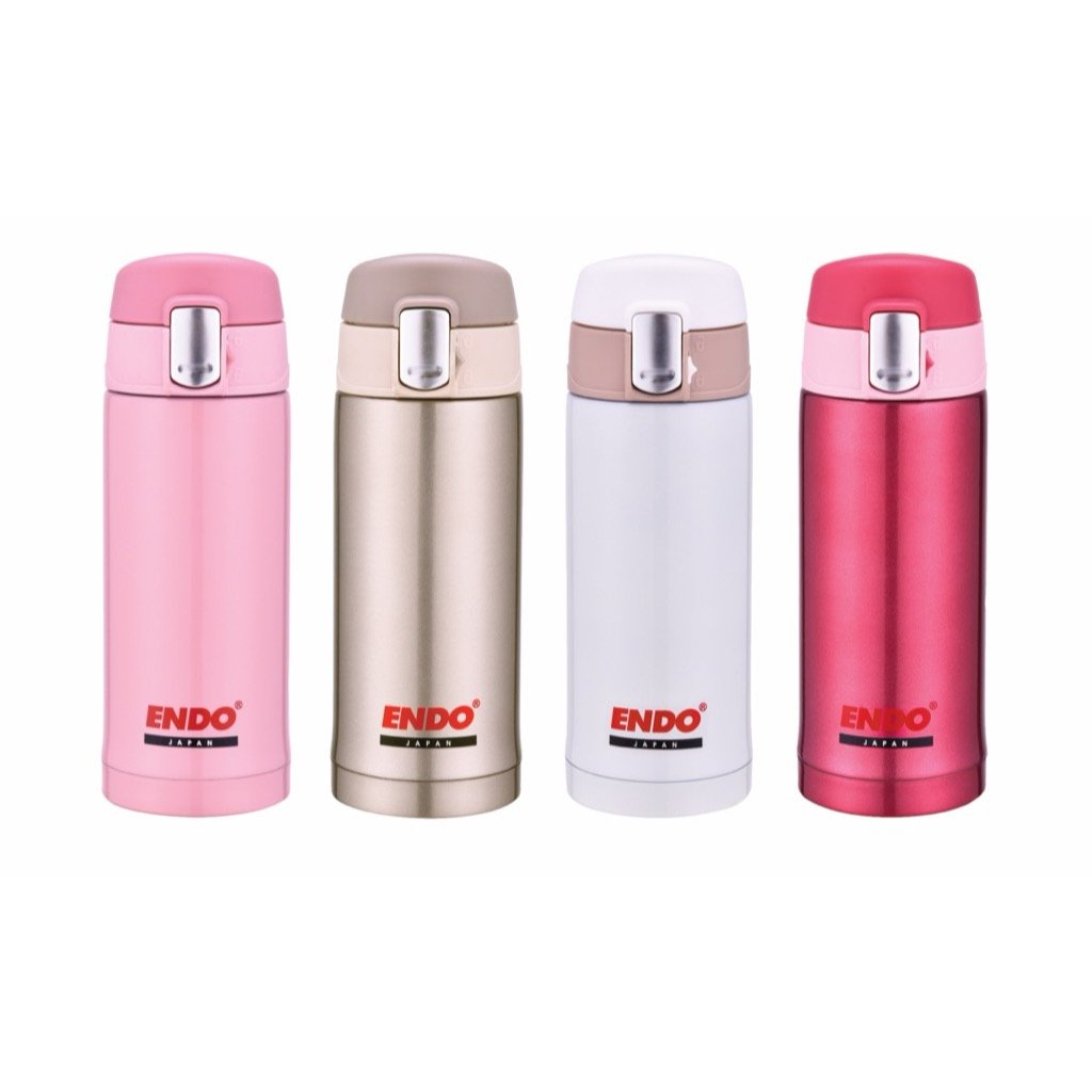 200ml Double Stainless Steel Mug (Flamingo Pink)