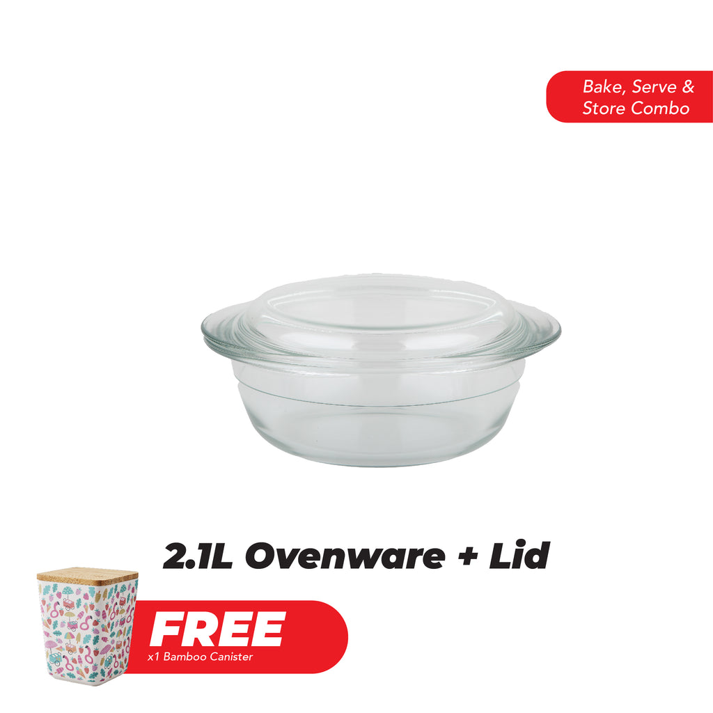 MAY-nia Offer: Bake, Serve and Store Combo 4 (Back by popular demand)