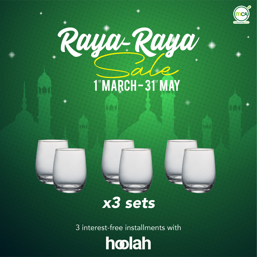 RAYA-RAYA SALE COMBO 3 : 6pcs Serve Combo