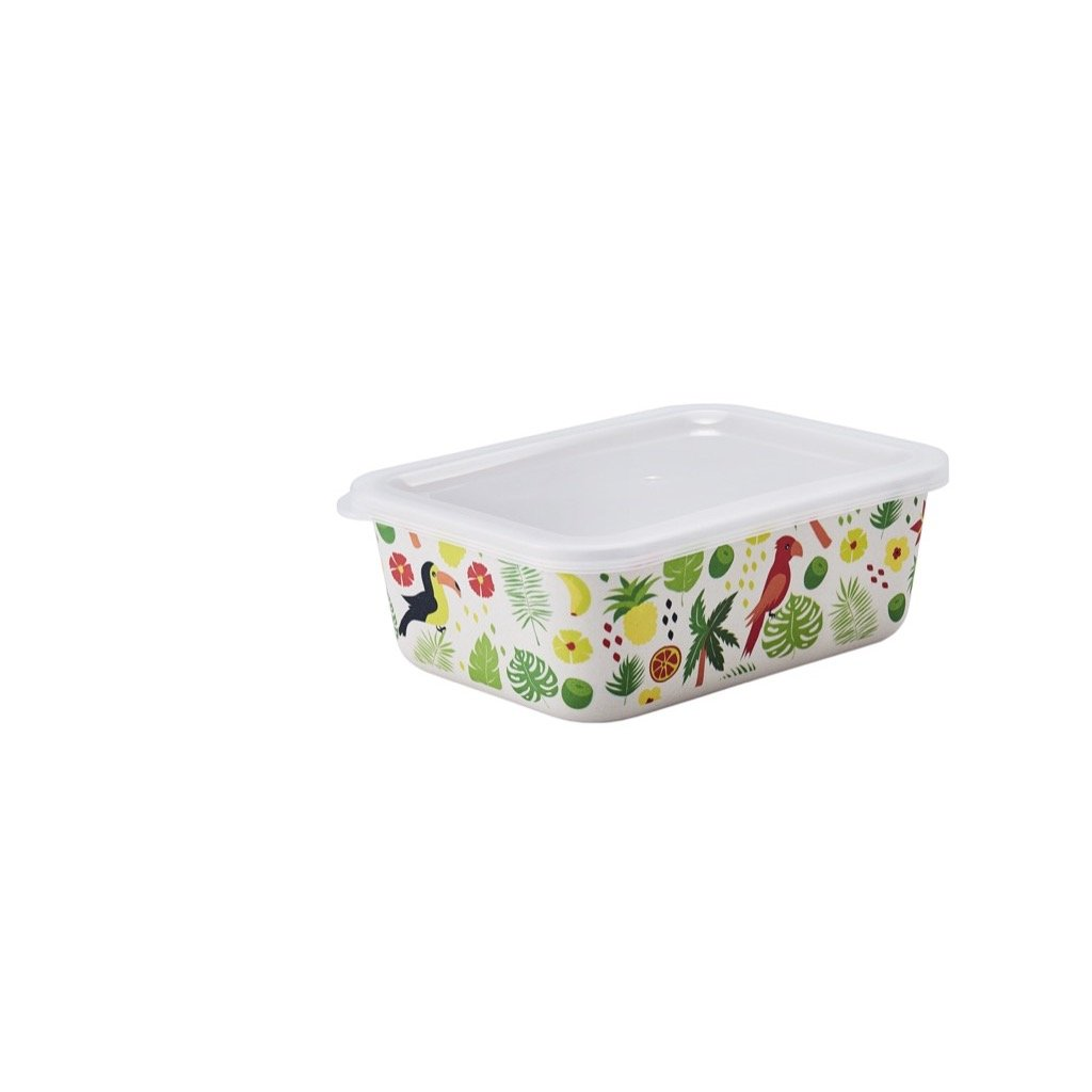 GO Green Rectangular Food Container (M)