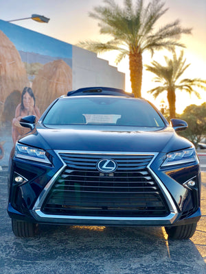 Visit Palm Springs: Review of Lexus RX