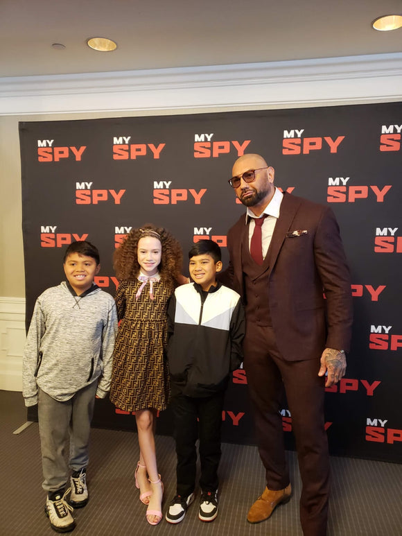 Boys Day Out: My Spy Screening Event