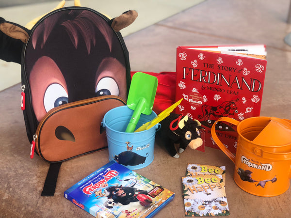 Plant a flower kit inspired by the movie, Ferdinand