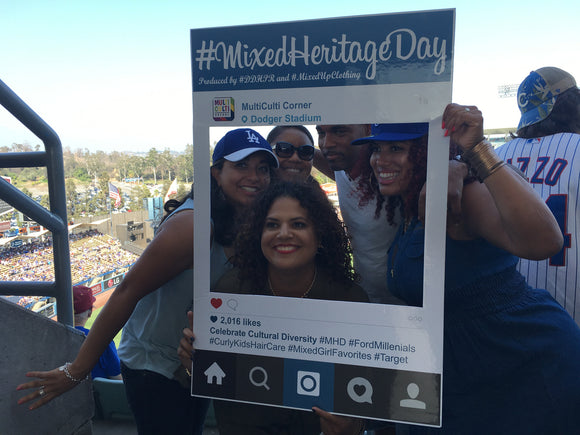 Mixed Heritage Day at Dodger Stadium