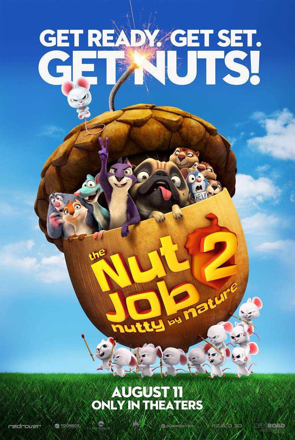 Giveaway!!! The Nut Job 2: Nutty By Nature