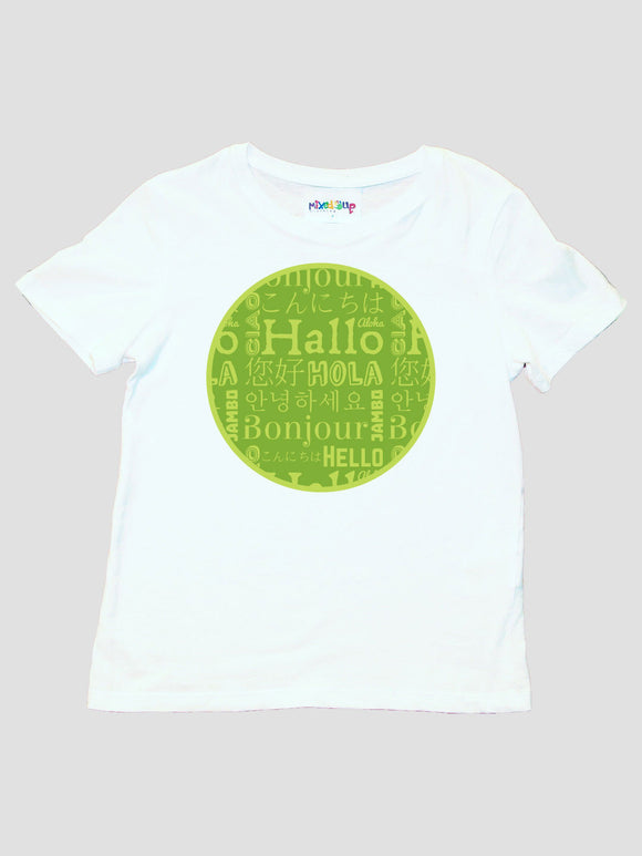 Hello in Different Languages Unisex T-Shirt