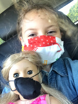 CDC-Compliant Face Mask with Pouch KID SIZE<br>****Buy 1 Donate 1****