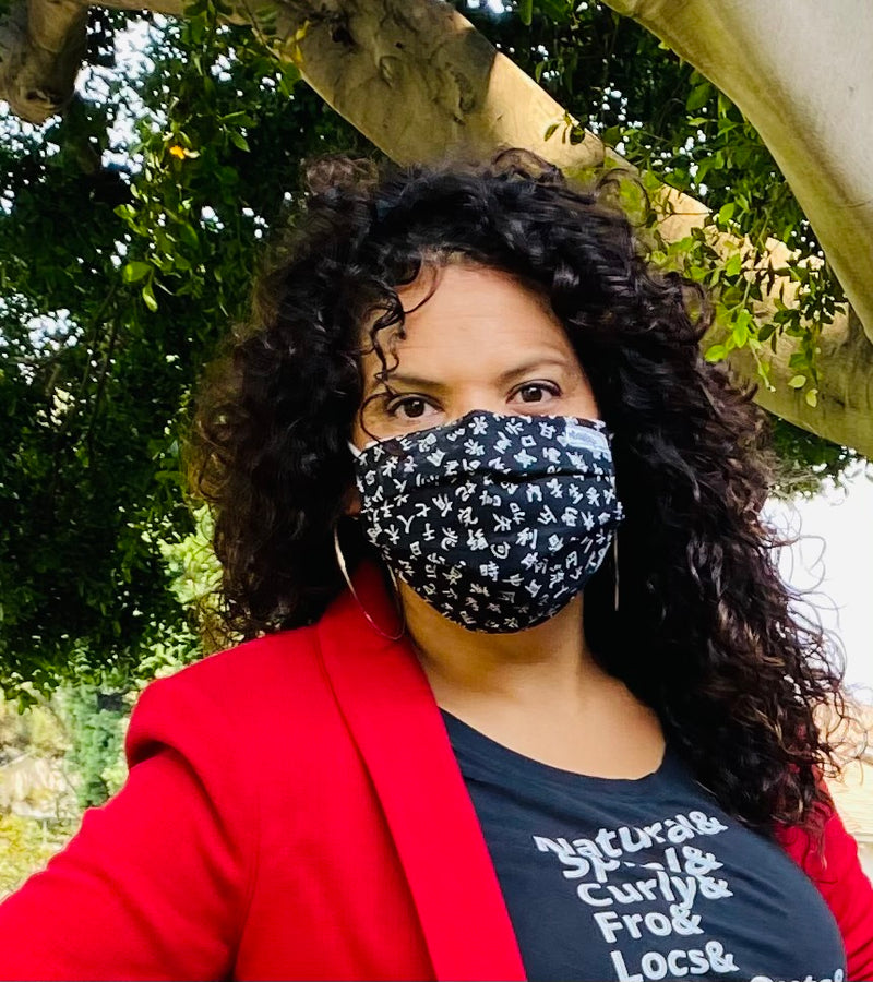 CDC-Compliant Face Mask with Pouch ADULT SIZE<br>****Buy 1 Donate 1****
