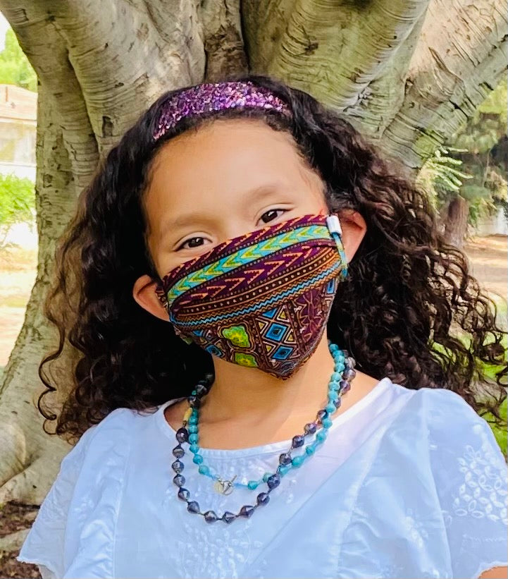 CDC-Compliant Face Mask with Pouch TEEN/SMALL ADULT SIZE<br>****Buy 1 Donate 1****