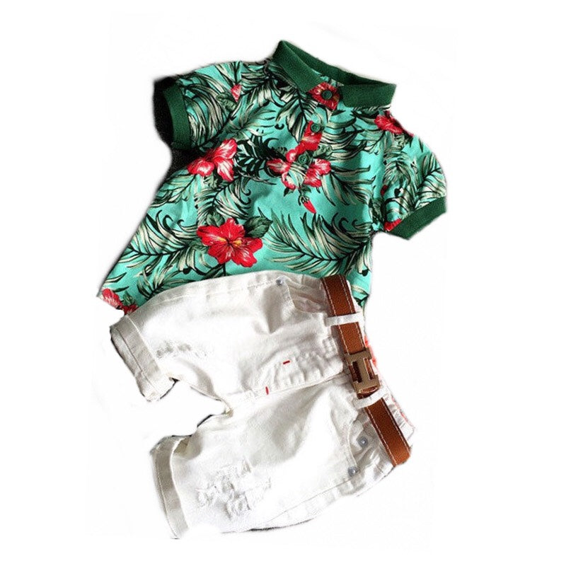 Boy Polo Top and Short Set