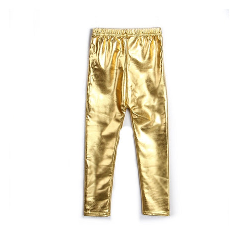 Pants - Gold Shiny
