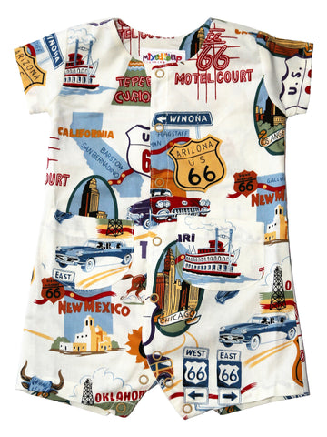 Infant Boy Romper - Route 66