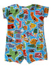 Infant Boy Romper - Maps