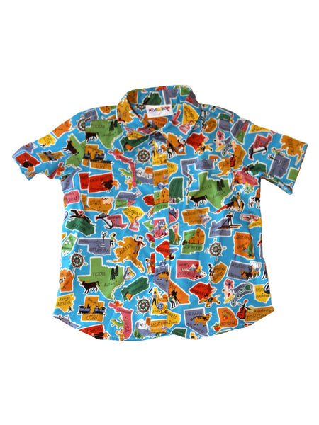 Camp Shirt - Maps