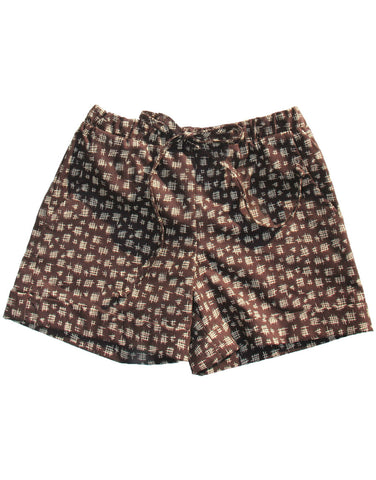 Girl Shorts - Brown Chinese Chalk