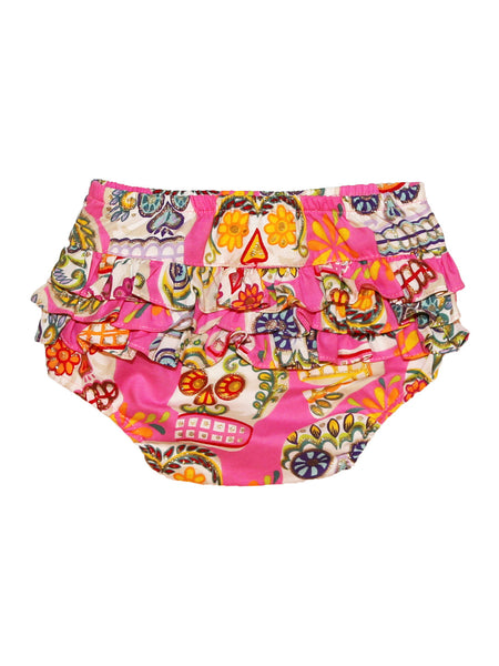 Bloomers - Pink Sugar Skulls with Glitter