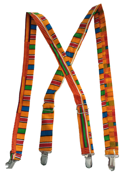 Suspenders - Kente