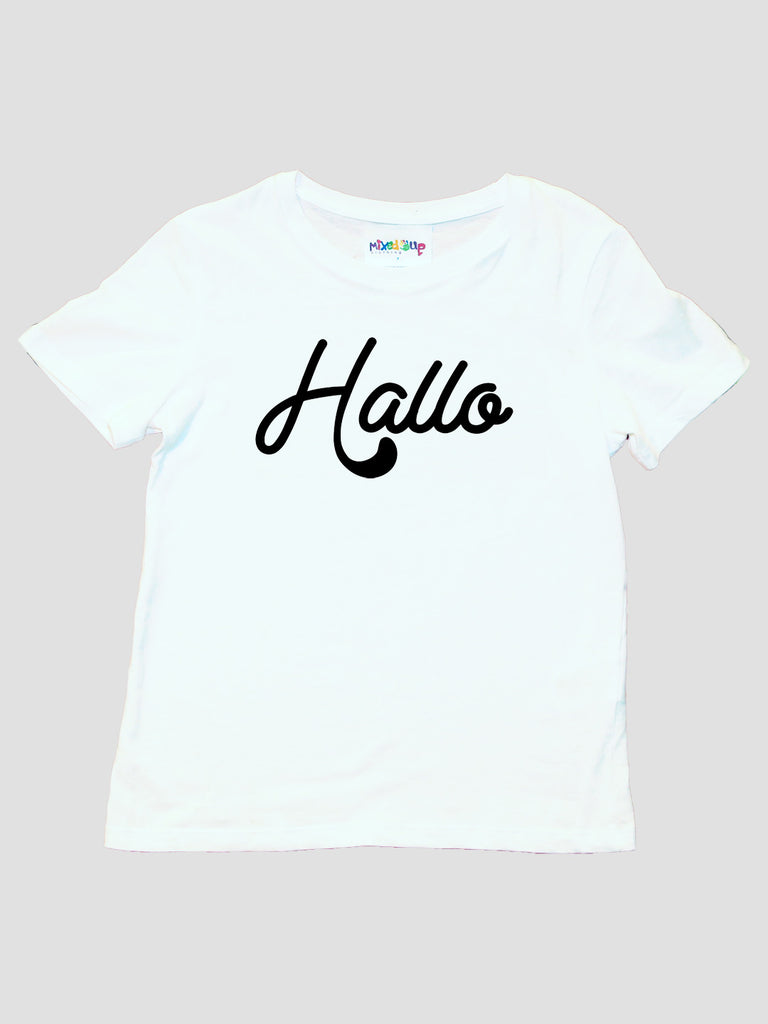 Hallo Kids Unisex T-Shirt