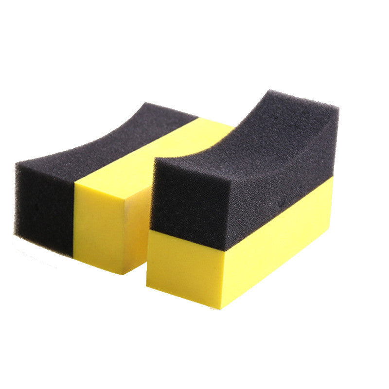 TAMPON APPLICATEUR MOUSSE JAUNE ET NOIR