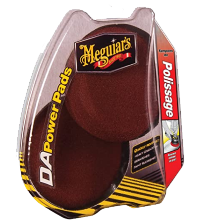 MEGUIAR'S DAPOWER PADS DUAL ACTION