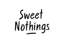 Sweet Nothings - Hand Drawn Display Font by BLKBK Type