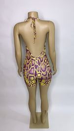 Load image into Gallery viewer, PURPLE PYTHON Jumpsuit