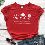 eco-heros Rouge / M / CHINA T Shrit Fleur