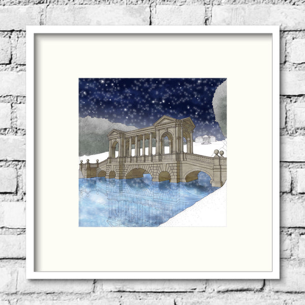Bath-prior-park-night-print-illustration