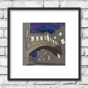 Oxford Bridge of Sighs - Night Skies