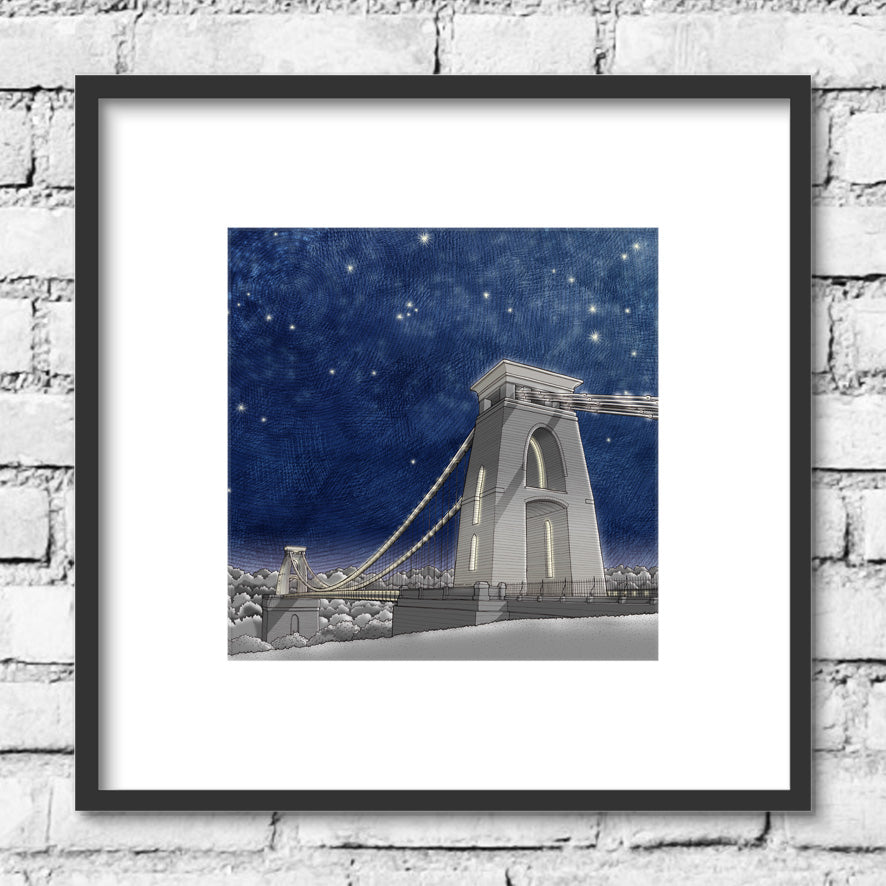 Bristol Clifton Suspension Bridge - Night Skies