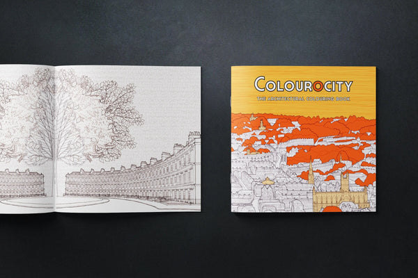 The Architectural Colouring Book