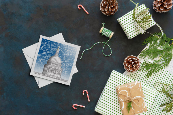 London Architecture Christmas Card - St. Paul's Cathedral