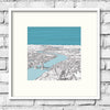 amazing london art - pitch 26 - london art illustration - london print