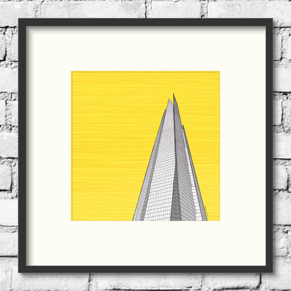 London-Art-Shard-Gold