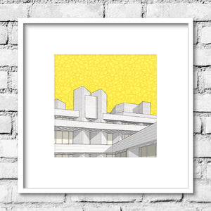 National Theatre Print - Yellow Sky