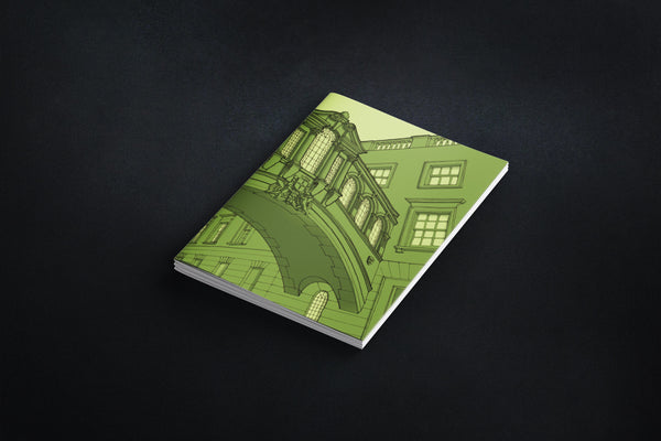 Set of 3 Oxford Notebooks