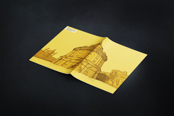 Oxford Radcliffe Camera Notebook - Yellow