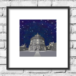 Oxford Radcliffe Camera - Night Skies