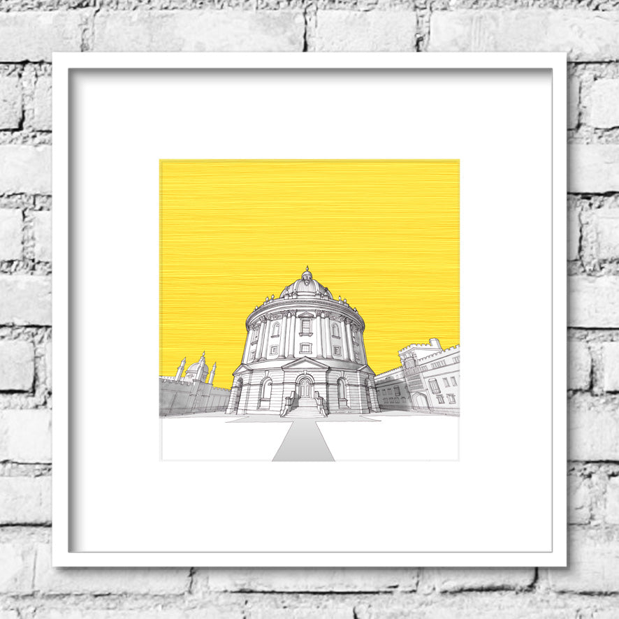 Oxford Radcliffe Camera - Yellow Skies