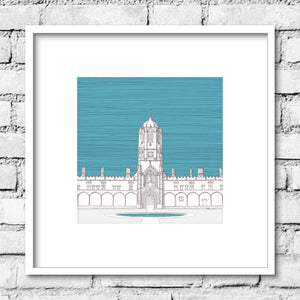 Oxford Tom Tower - Blue Skies