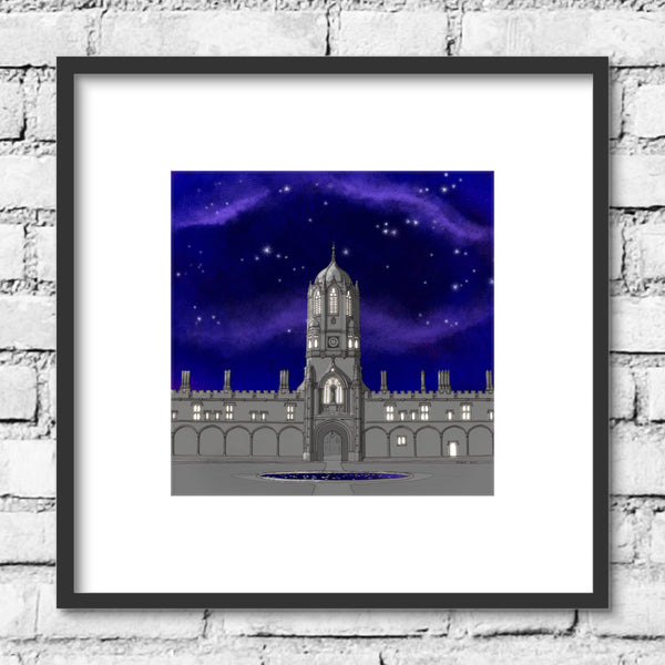 Oxford Tom Tower - Night Skies