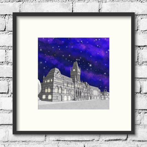Winchester Art - Winchester Guildhall - Night Sky